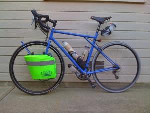 My randonneuring bike, designed and built by Rick Jorgensen