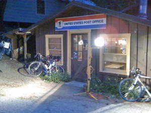 Post office at Tobin resort