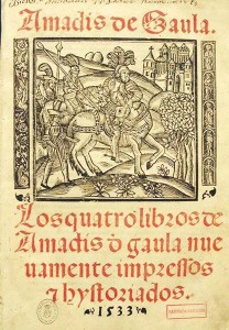 1533 edition of Amadis of Gaul